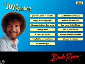 Bob Ross App - Bob Ross for iPad & Reviews