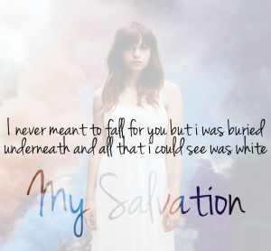 Gabrielle Aplin Salvation Lyrics