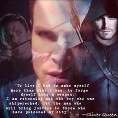 oliver queen - arrow More