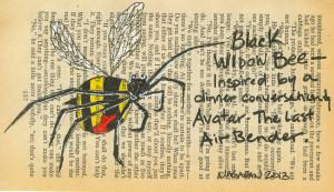 Black Widow Bee