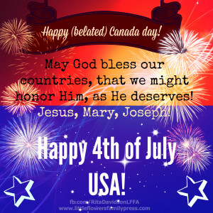 CanadaUSA DAY May God Bless Our Countries. Us Founders Quotes About ...
