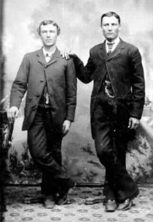 Frank James | Jesse and Frank James distant uncles of mine ...