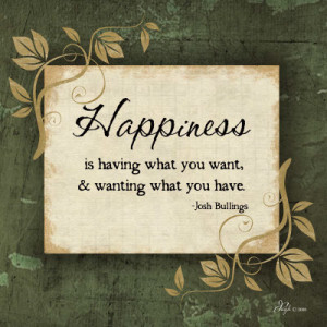 What Is Happiness Quote