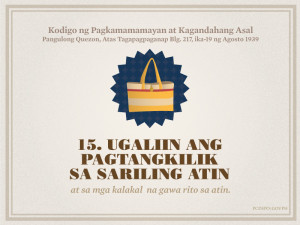 Quezon's Code of Citizenship and Ethics