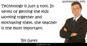 Technology and education – Bill Gates