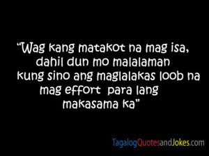 Simple Tagalog Quotes Images - 1