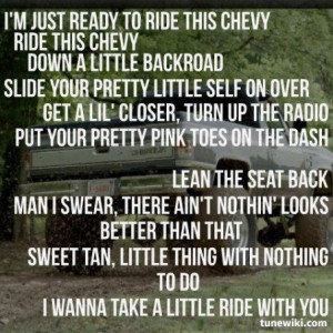 Jason Aldean ~ Take A Little Ride