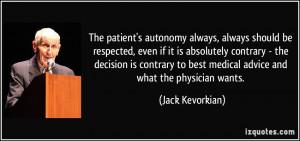 More Jack Kevorkian Quotes