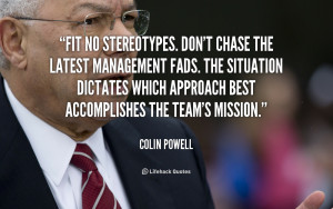 quote Colin Powell fit no stereotypes dont chase the latest 2643 png