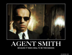 Agent Smith, a BAD example of a GOOD machine by RockmanMegaman2