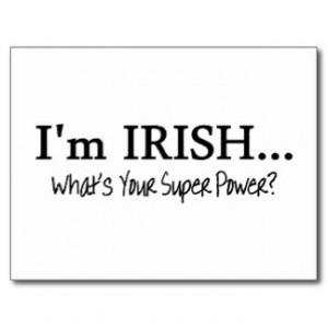 Irish Quotes Postcards