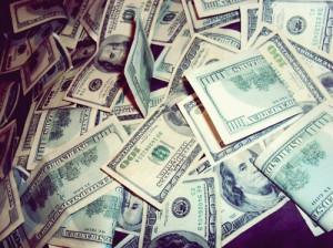 100 dollars, fashion, fortune, luxury, money