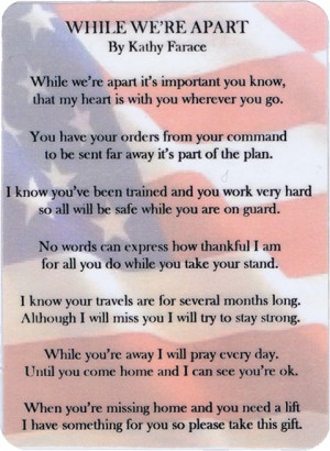 Poem Card for Deploying Soldiers Army Strong, Poems, Army Wife, Army ...