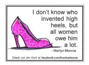 Photo Funny Quotes About Women in High Heels