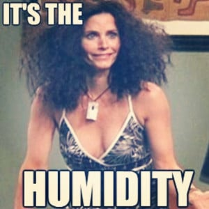 ! Are you? Our only complaint in this heatwave is the #humidity ...