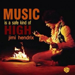 Jimi Hendrix #music #quote