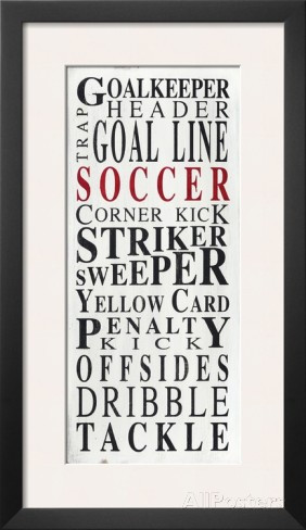 Soccer Goalie Quotes Soccer goalkeeper framed art