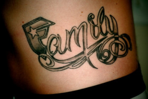 ... love my family and none who can change it tattoo phrases for family