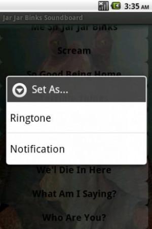 View bigger - Jar Jar Binks Soundboard for Android screenshot