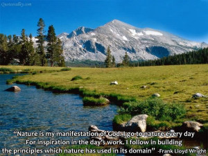 Quotes About Nature And God Of god nature ... quotes