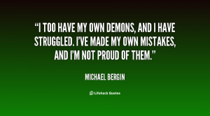 My Demons Quotes