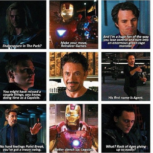 Funny Avengers Quotes Tumblr