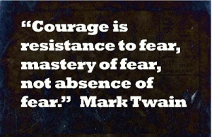 instead for me courage and therefore heroism depends on this