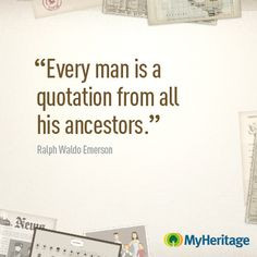 Genealogy Poems And Quotes