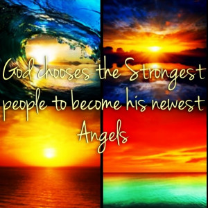 Angels are the strongest people