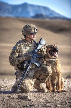 ... Photography | Daily Dog Tag | Military Working Dog and US Soldier More