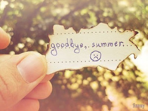 This is not goodbye but.....