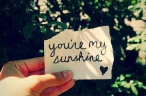 love, smile, u make me happy, words, you and me, youre my sunshine