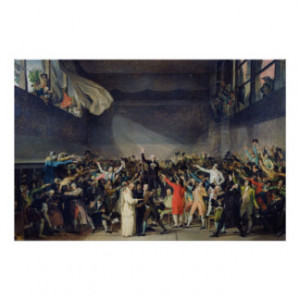 The Tennis Court Oath, 20th June 1789, 1791 Print