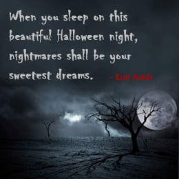 Scary Halloween Sayings