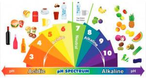 Por medio de este gráfico podrás conocer los alimentos y su nivel de ...