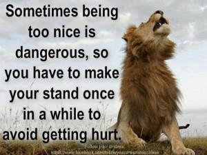 Make a stand!