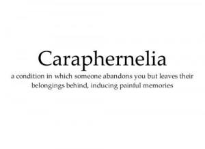 Caraphernelia Lyrics