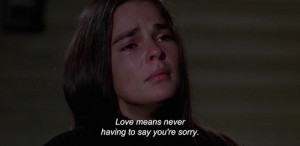 Love Story quotes,Love Story (1970)