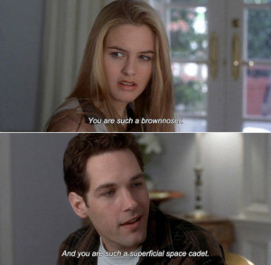 little movie scene pic from the cute 1995 coming of age movie Clueless ...