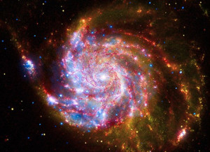 Messier 101, twice the size of the Milky Way, is one of billions of ...