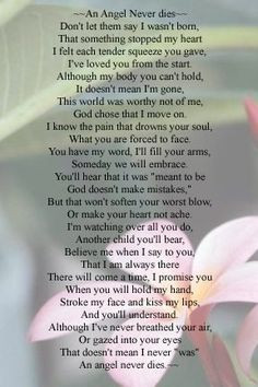 poems angels quotes angels baby sweets angels infant loss baby ...