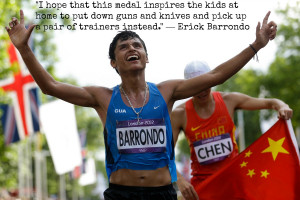 Determination Quotes For Athletes Famous olympic quotes to get