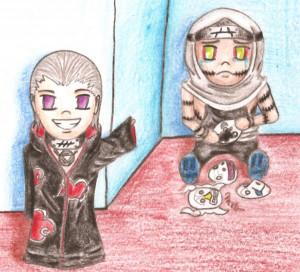 Chibi Hidan And Kakuzu Miv