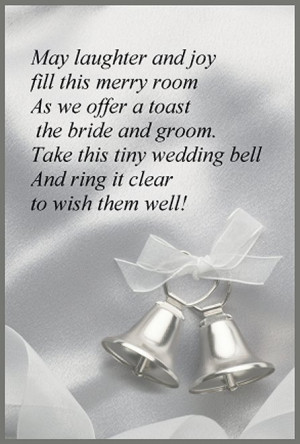 ... tie up two or three Hershey kisses with tulle. Then attach this rhyme