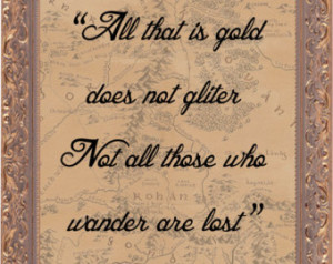 Quotes From The Hobbit ~ Popular items for the hobbit print on Etsy