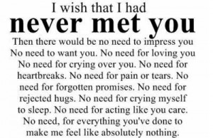 Sad Goodbye Quotes For Lovers