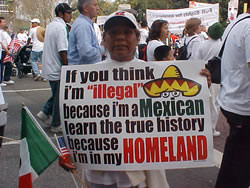 Hateful, Racist Vitriole from the Pro-Illegal Immigration Protests