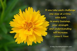 Spiritual Quote – James E. Faust