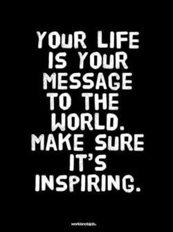 Make an impact on the world.