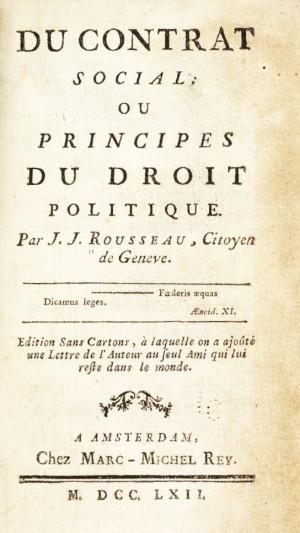Jean Jacques Rousseau Social Contract Quotes